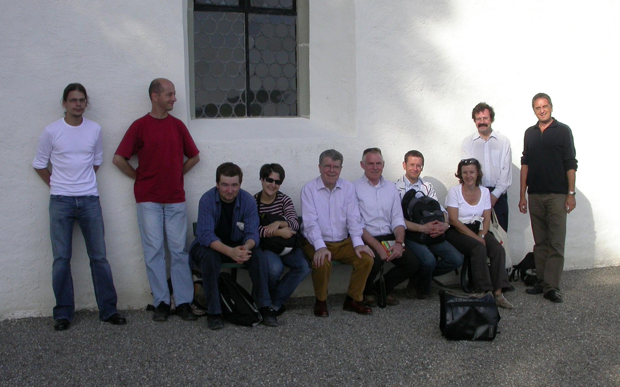Das Idiotikon-Team auf dem Ausflug nach Frauenfeld und Stammheim (2006)